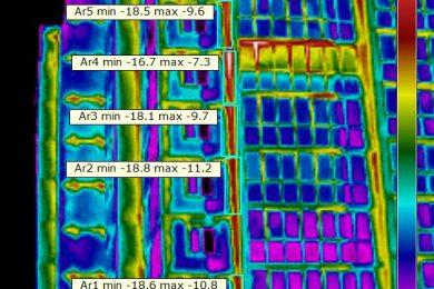 Тепловизионный контроль качества теплоизоляции ограждающих конструкций (ОК)
